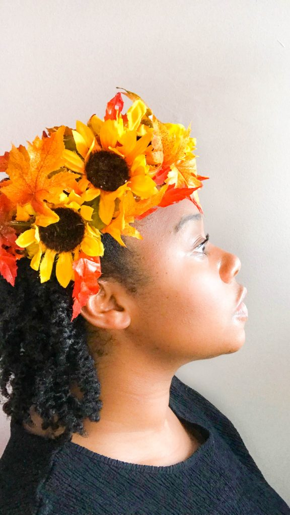 DIY Fall Flower Crown