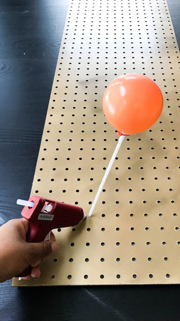 Balloon and Pegboard