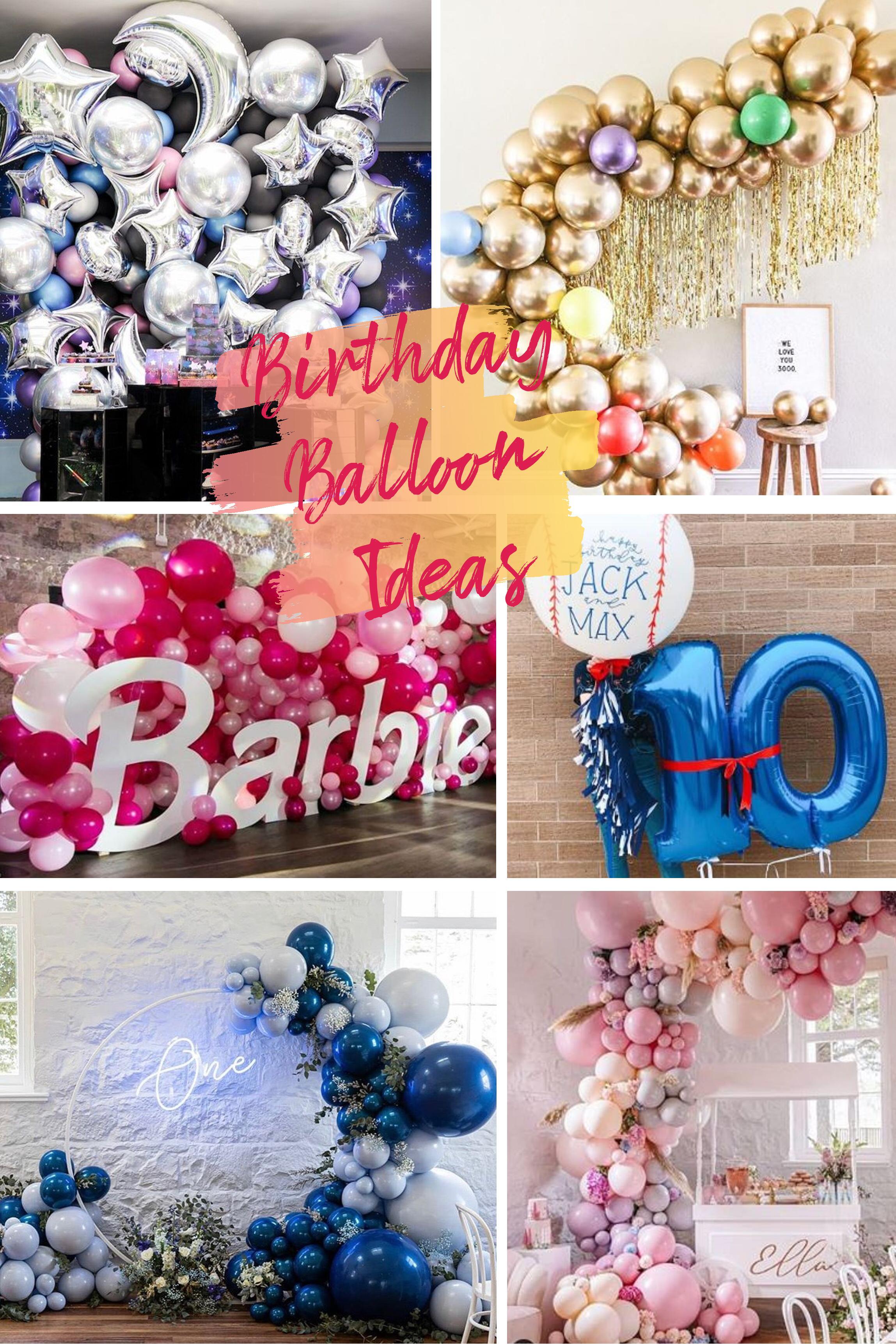 Kids Birthday Balloon Decoration Ideas