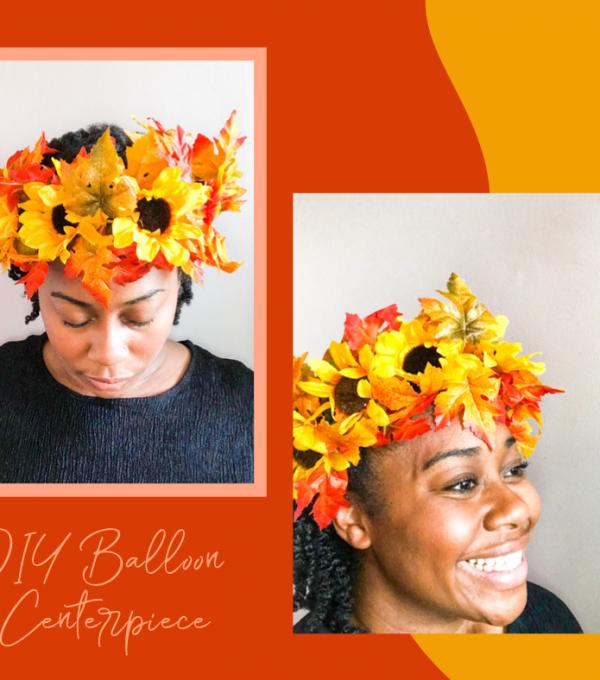 DIY Fall Flower Crown