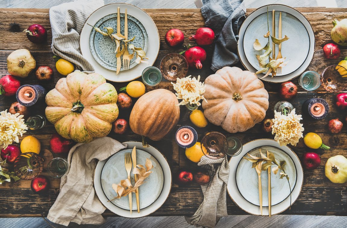 8 Thanksgiving Tablescape Ideas