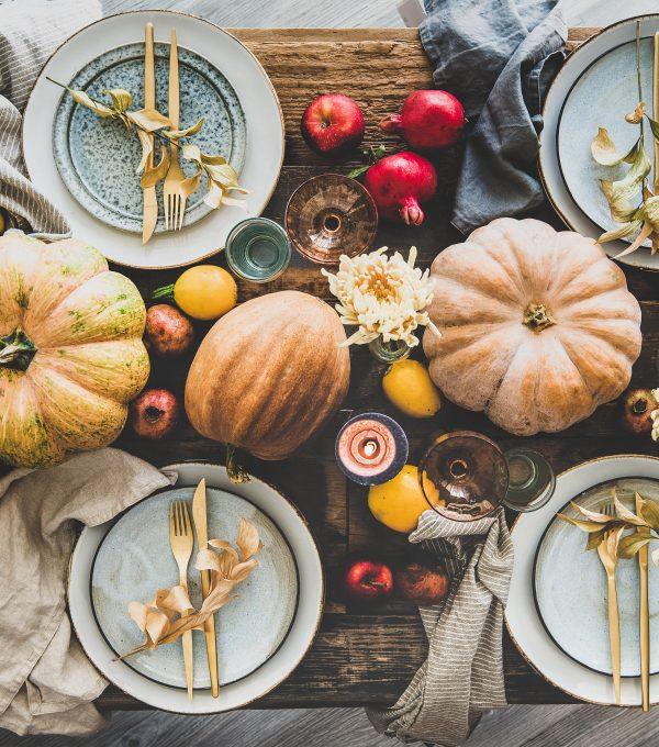 8 Thanksgiving Tablescape Ideas