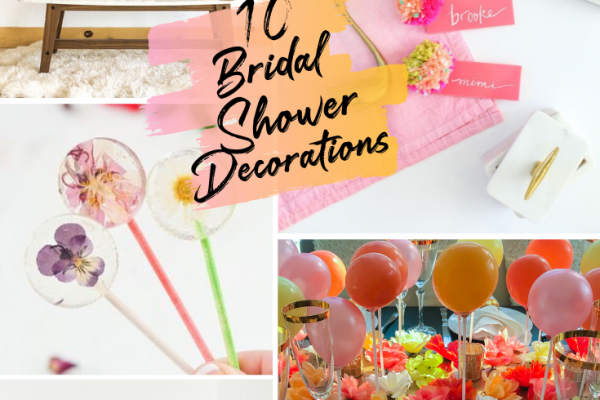 10 COLORFUL BRIDAL SHOWER DECORATIONS YOU MUST TRY