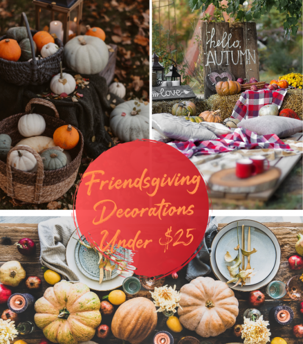 12 CHEAP FRIENDSGIVING DECORATIONS UNDER $25