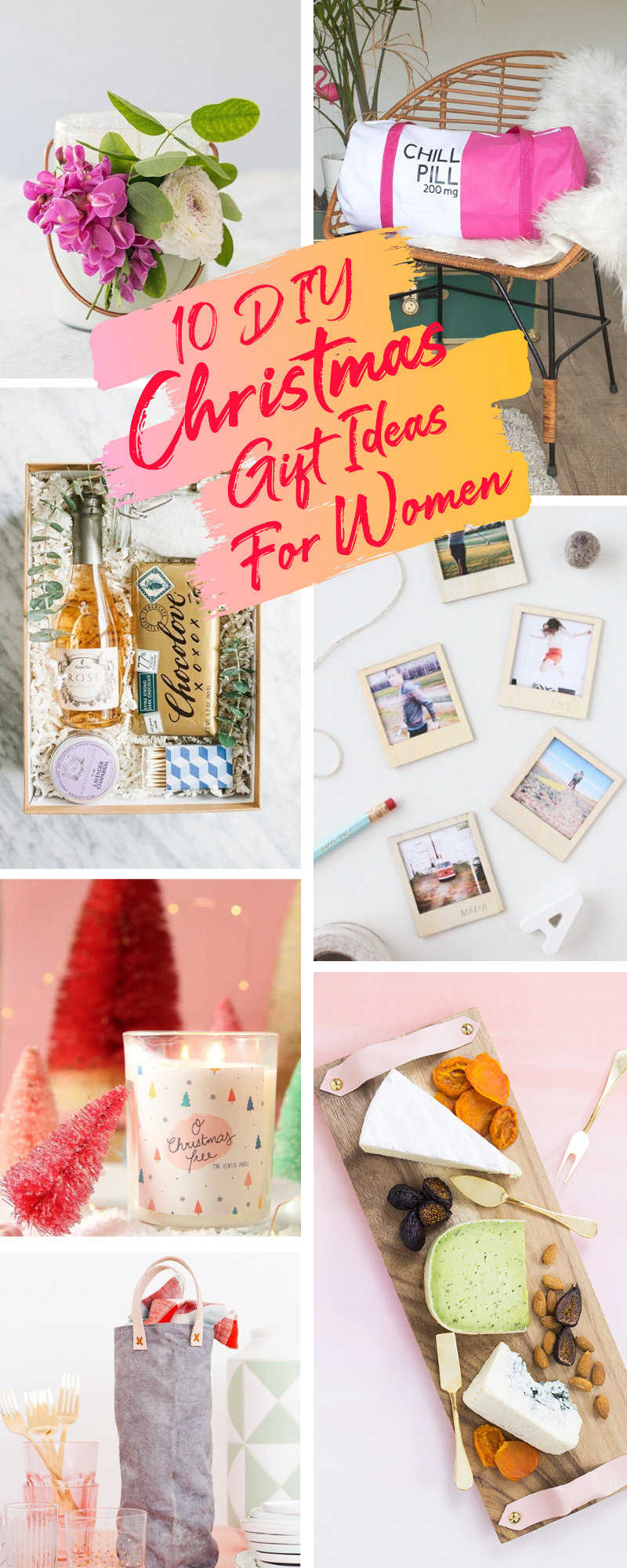 10 DIY Christmas Gifts To Make For The Women In Your Life