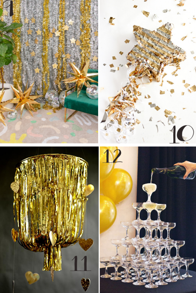 12 New Years Eve Party Decorations