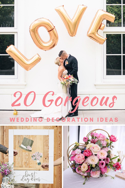 20 Elegant Wedding Decorations On a Budget