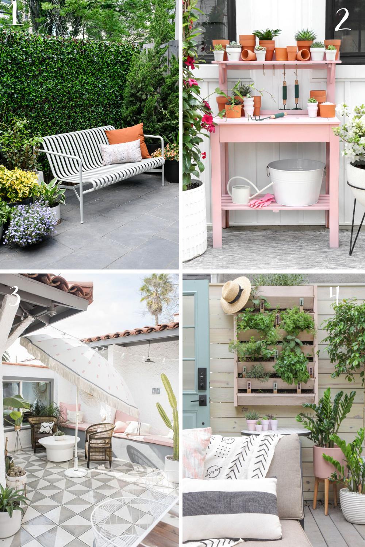 DIY Backyard Patio Decor