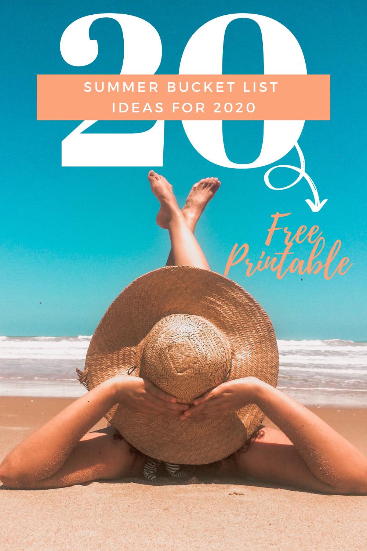 Summer Bucklist Ideas