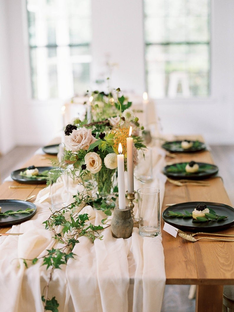 Chiffon Table Runner