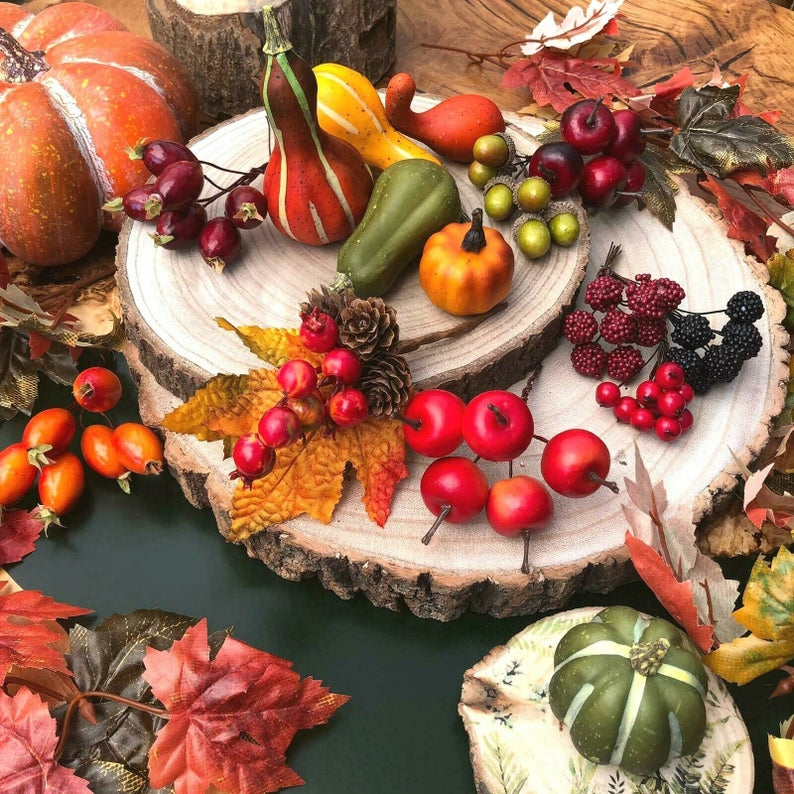 Autumn Table Decor