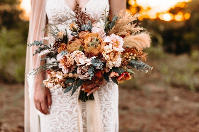 Boho Wedding Bouquet