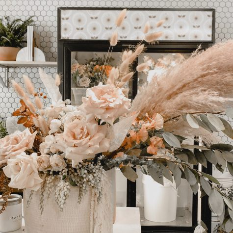 DIY Dried Flower Bar